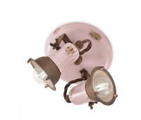 Спот  Ferroluce C1678 VIC  Винтажный розовый (пр-во Италия)