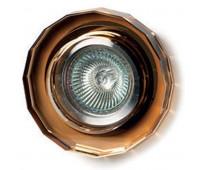 Точечный светильник  Voltolina(Classic Light) 458 ambra  Янтарный (пр-во Италия)