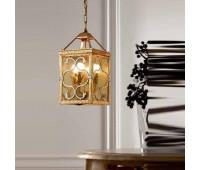 Подвесной светильник  Passeri  L. 8210/4 Dec.01+040  Золото, серый (пр-во Италия)