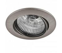 011025 Светильник LEGA HI ADJ MR16/HP16 НИКЕЛЬ (в комплекте) Lightstar 011025  Никель (пр-во Италия)
