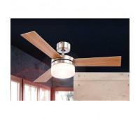 Потолочный вентилятор Glogo  Globo 333 Brown  Никель (пр-во Австрия)