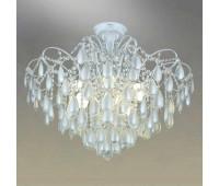 Потолочный светильник Omnilux OML-74517-10  Белый с серебром (пр-во Китай)