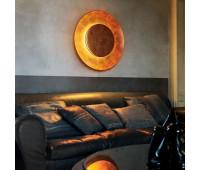 Настенно-потолочный светильник Fontana Arte 4246OO/RM   Сусальное золото (пр-во Италия)
