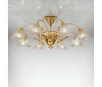 Потолочная люстра Sylcom 1480/8 D CR.ORO  Позолоченный, прозрачный (пр-во Италия)