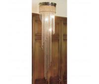Потолочный светильник IL Paralume Marina 1379  Хром (пр-во Италия)