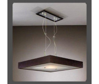 Подвесной светильник La Lampada L 120/G.50 Wenge  Дерево (пр-во Италия)
