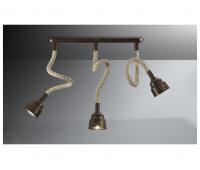 Потолочный светильник Favel 05293/00PL3  Бронза (пр-во Италия)