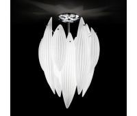 Потолочный светильник IDL 430/42PF bianco latte    Хром (пр-во Италия)