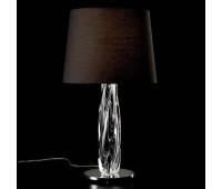 Настольная лампа Barovier&Toso Barovier 7224/CC/NN  Хром и прозрачное стекло ручной работы - cl (пр-во Италия)