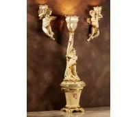 Статуя с подсветкой Ceramic Dreams  Lorenzon L.573/C/AVOL  Кремовый, золотой (пр-во Италия)