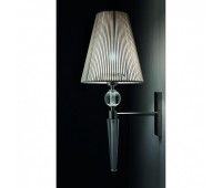 Бра Lights Dettagli lights Clock CL15-BESPOKE  Прозрачный, никель (пр-во Италия)