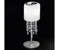 Лампа настольная IDL 9044/3LP Frosted white blown glass  Хром (пр-во Италия)