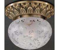 Накладной светильник Reccagni Angelo PL 7711/1 Bronzo arte  Бронза (пр-во Италия)
