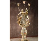 Статуя с подсветкой Ceramic Dreams  Lorenzon L.588/FVL  Венецианский (пр-во Италия)