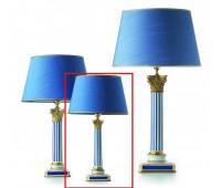 Настольная лампа  Le Porcellane 3518  Синий (пр-во Италия)