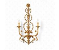 Бра  Roberto Giovannini 1042 A039 2nd half XVIII C. Robert Adam English  Версальское золото (пр-во Италия)