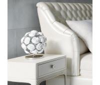 Настольная лампа Rugiano 8062/30  Хром, белый (пр-во Италия)