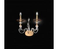 Бра Kappa Luce KAP0027/A2.C.CA  Прозрачный, янтарь, золото (пр-во Италия)