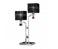 Лампа настольная IDL 387/2L Chrome  Хром,аметист (пр-во Италия)