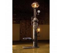 Торшер Robers AL6834  Черно-серый, состаренная медь, античная латунь (пр-во Германия)