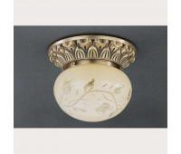 Накладной светильник Reccagni Angelo PL 7712/1 Bronzo arte  Бронза (пр-во Италия)