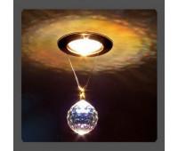 Точечный светильник Kantarel CD 001.3.1 crystal AB  Золотой (пр-во Россия)