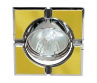 Встраиваемый светильник Feron 098T-S art.17658  Золото, хром (пр-во Китай)