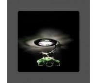 Точечный светильник Kantarel CD 015.2.1/2 lt peri  Хром (пр-во Россия)