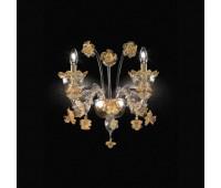 Бра Kappa Luce KAP0011/A2.G.CGo  Прозрачный, золото (пр-во Италия)