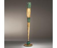 Торшер MM Lampadari 6699/LT2  Состаренно зеленый с золотом (пр-во Италия)