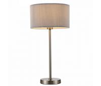 Светильник настольный Arte Lamp A1021LT-1SS MALLORCA  Матовое серебро (пр-во Италия)