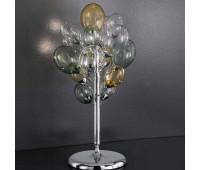 Лампа настольная IDL 372/3L Multicolour  Хром (пр-во Италия)