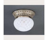 Накладной светильник Reccagni Angelo PL 7720/1 Bronzo arte  Бронза (пр-во Италия)