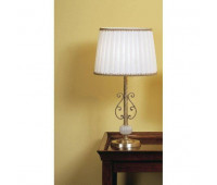 Настольная лампа IL Paralume Marina 705  Золото, молочно-белый (пр-во Италия)