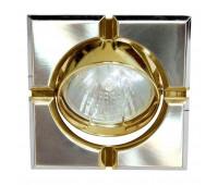 Встраиваемый светильник Feron 098T-S art.17660  Титан, золото (пр-во Китай)