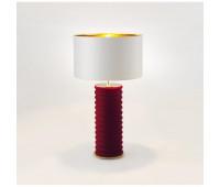 Настольная лампа Aromas Taro NAC113 Granate   гранатовый, золото (пр-во Испания)