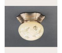 Накладной светильник Reccagni Angelo PL 7732/1 Bronzo arte  Бронза (пр-во Италия)