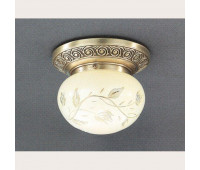 Накладной светильник Reccagni Angelo PL 7742/1 Bronzo arte  Бронза (пр-во Италия)