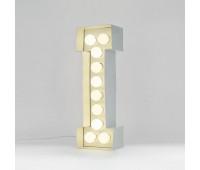 Декоративная буква с подсветкой  Seletti Vegaz 01408_I  Белый (пр-во Италия)