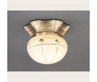 Накладной светильник Reccagni Angelo PL 7733/1 Bronzo arte  Бронза (пр-во Италия)