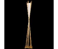 Торшер  Flamina by Lucienne Monique 7503/1 gold  Золотистый (пр-во Италия)