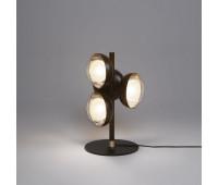 Настольная лампа  Tooy 554.35  Черный, бронза (пр-во Италия)