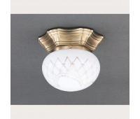 Накладной светильник Reccagni Angelo PL 7730/1 Bronzo arte  Бронза (пр-во Италия)
