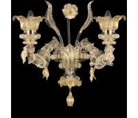 Настенный светильник Multiforme Regale APR0113-2-CK  Золото (пр-во Италия)