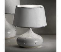 Настольная лампа  Masiero Luxury White Grace/TL1 P  Белый, хром, инкрустирован кристаллами swarowski (пр-во Италия)