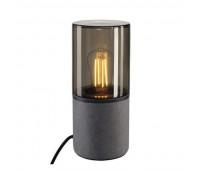 LISENNE TL светильник настольный для лампы E27 23Вт макс., темно-серый базальт/ стекло дымч. SLV 155702  (пр-во Германия)