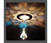 Точечный светильник Kantarel CD 012.3.1 crystal AB  Золотой (пр-во Россия)