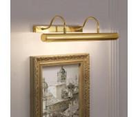 Подсветка для картин Renzo Del Ventisette LQ 14308/4 DEC. 097  Сатинированное золото (пр-во Италия)