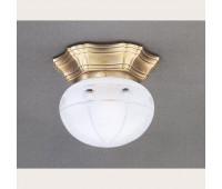Накладной светильник Reccagni Angelo PL 7734/1 Bronzo arte  Бронза (пр-во Италия)
