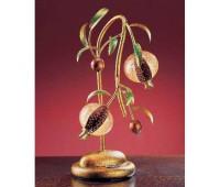 Настольная лампа  Bellart 1640/LU2L 02/V03  Золото (пр-во Италия)